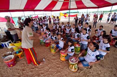 Caravana da Música em Cruz, realizada em 2011. Foto: Celia Santos